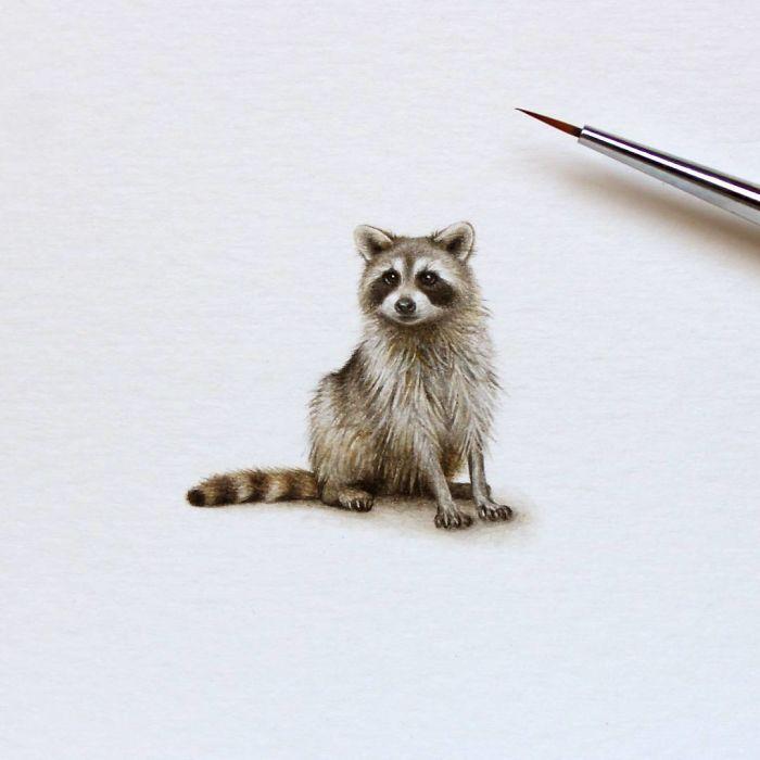 لوحات مصغرة مذهلة مرسومة باليد
