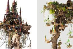انشاء عالم من الخيال والابداع باستخدام مواد لا حاجة لها