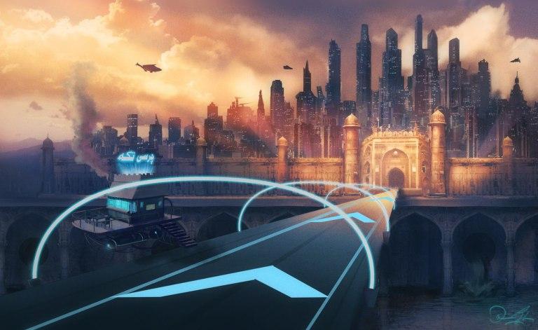 كيف تبدو الباكستان داخل فيلم الخيال العلمي Sci-Fi / fantasy movie ؟؟