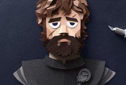 قطع ورقية مفّصلة لشخصيات مسلسل صراع العروش (Game Of Thrones)