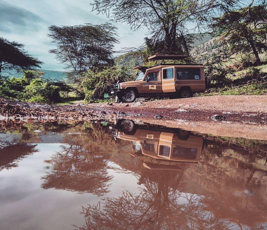 صور رائعة التقطها أحد هواة السفر باستخدام الهاتف المحمول!
