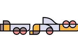 """الخط العربي الفني """"تجريد"""" يستند على مركبات """"بيت موندريان"""" التجريديه"""