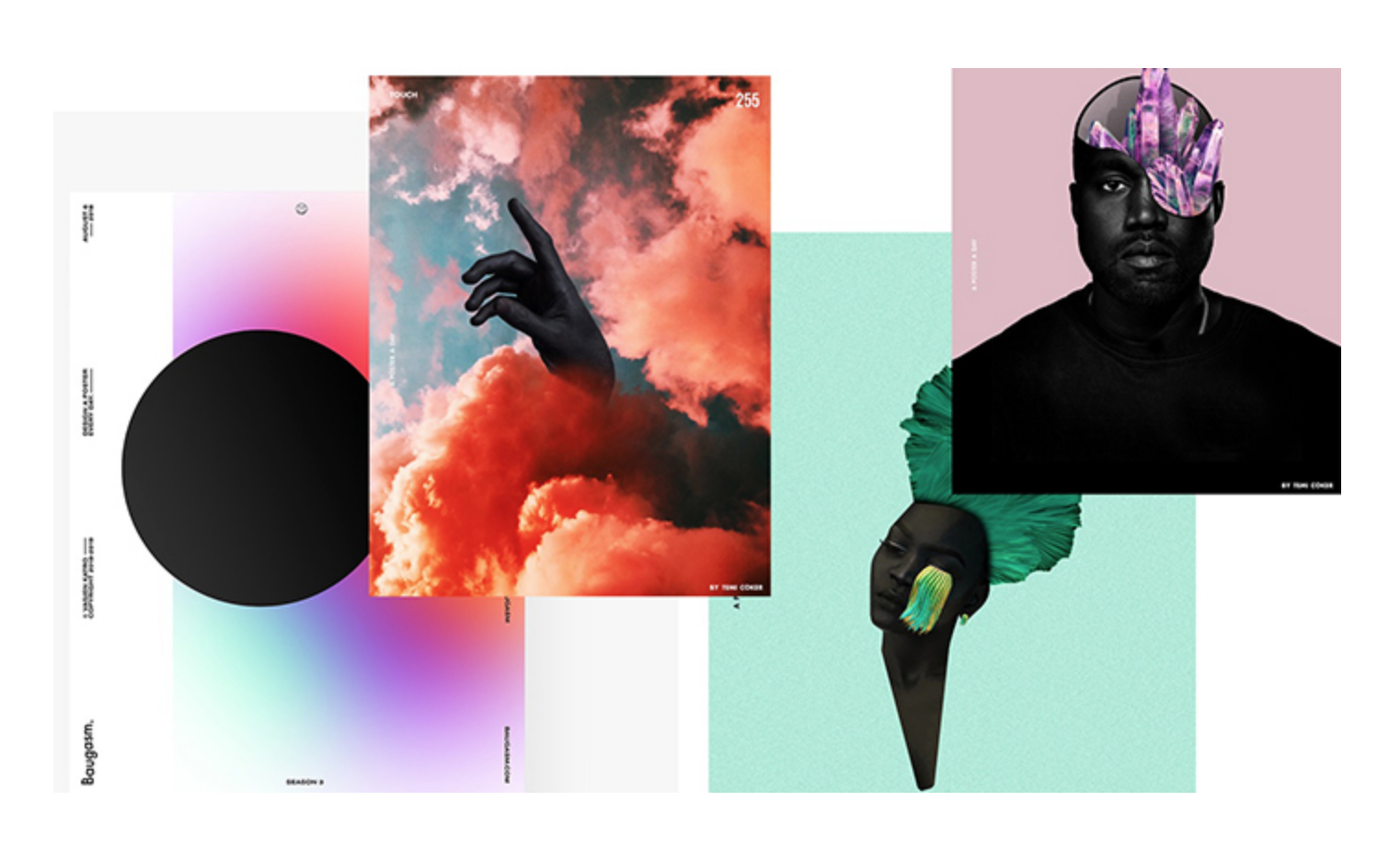 أفضل خمسة اتجاهات في التصميم لعام 2019 من أدوبي (Adobe)