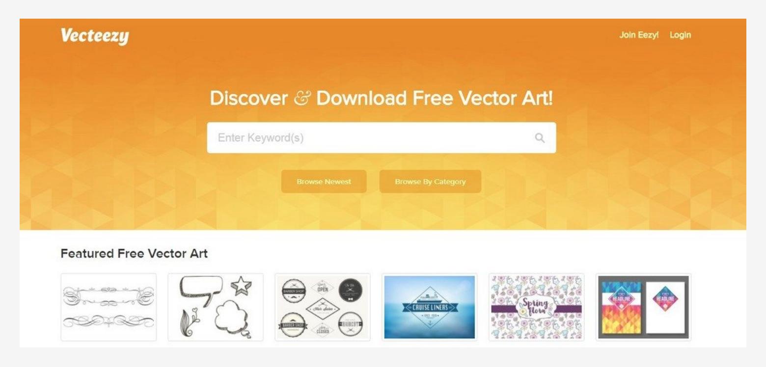 10 مواقع رائعة لتحميل ملفات فيكتور (Vector Art) مجاناً