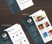 سيرة ذاتية Resume CV + Cover Letter +Portfolio + referance