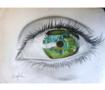 لوحة عين