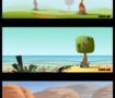 Cartoon environments & backgrounds