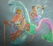 رسم حورية البحر