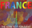 A flyer template for Paris events