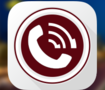 """Call Morocco"" App Icon Design"