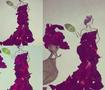 Costume Design paper roses