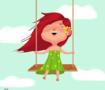Flying by a swing
