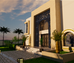 Villa exterior and interior design