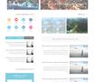 """قالب مدونة """"مُسافر"""" للسفر والسياحة"""