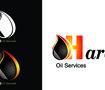 شعار لشركة حراقة للخدمات النفطية