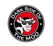 Dark side of the moo logo design