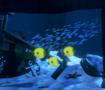 3D under ocean scene