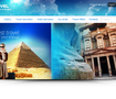 Travel Website Header
