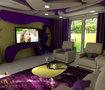 1 - مشروع تصميم غرفة معيشة
