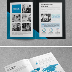 Abstract Corporate Brochure 24 Page