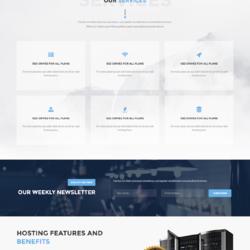 HeroHost - Web Hosting HTML5 Template