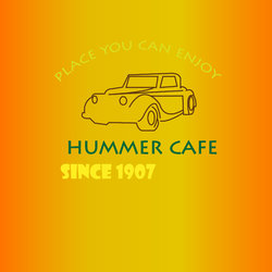 hummer cafe logo