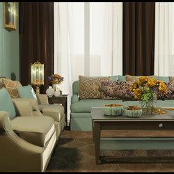 "Modern ""Autumn Dew"" Livingroom"