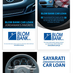 Blom Bank . Print ads