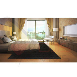 Architectural interior Visualization Of apartment