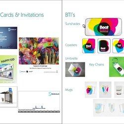 Greeting Cards &BTL's