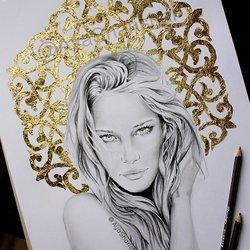 Gold Leaf Work