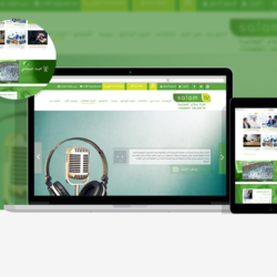 Salam TV- web design