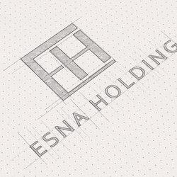 Esna Holding Logo & Corporate Identity Development 1