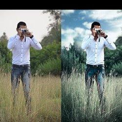 Retouching Photoshop tutorial-طريقه عمل اديت وريتات