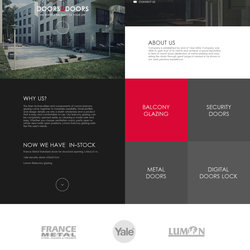 Doors & Doors web design