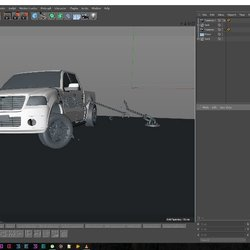 Ford F150 scene