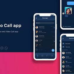 Mobile Video Calling App