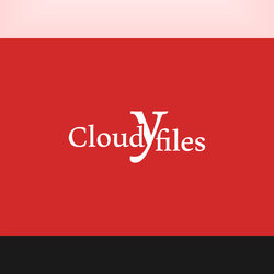 Cloudy files logo