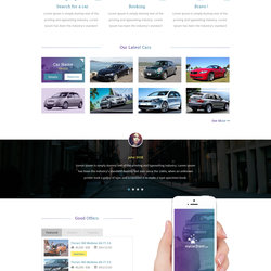 Car Rental Template