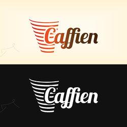 Caffien Logo | شعار كافاين