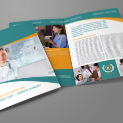 Hospital Bi-Fold Brochure Template Vol.2
