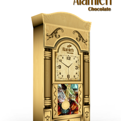 chocolate & clock box