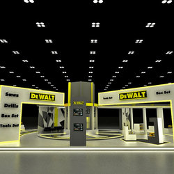 DeWalt Exhibition Stands