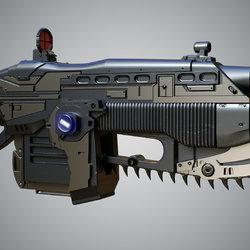 sci fi weapon