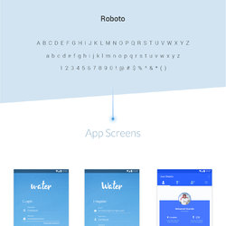 Water App - Mobile App Design