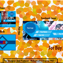 2 Covers Of Facebook   And 2 Business Card For Buy