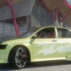 Mitsubishi Evolution 2003