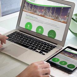 موقع اليكتروني متوافق مع كافة المتصفحات والاجهزة