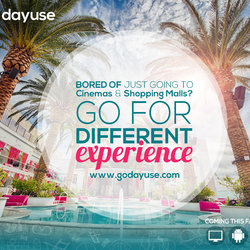 Go DayUse Social Media Designs