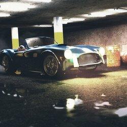Shelby Cobra 3D Scene